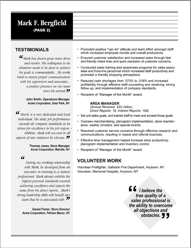 DesignerResumes.com  Entry Level Biology Resume